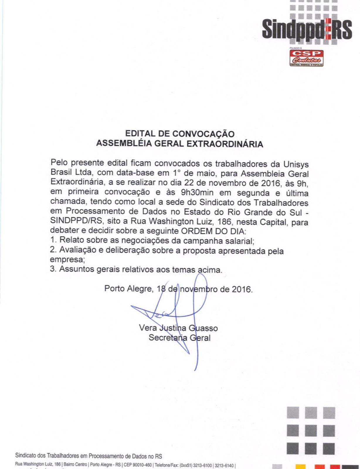 Setor privado assembleia dos trabalhadores da unisys sobre a 161122editalunisysassembleia stopboris Image collections