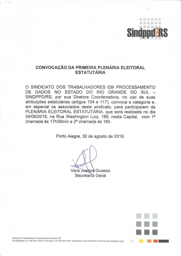 Convocação Primeira Plenária Eleitoral (04 09 2019)-1