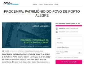 AVAAZ procempa2 site