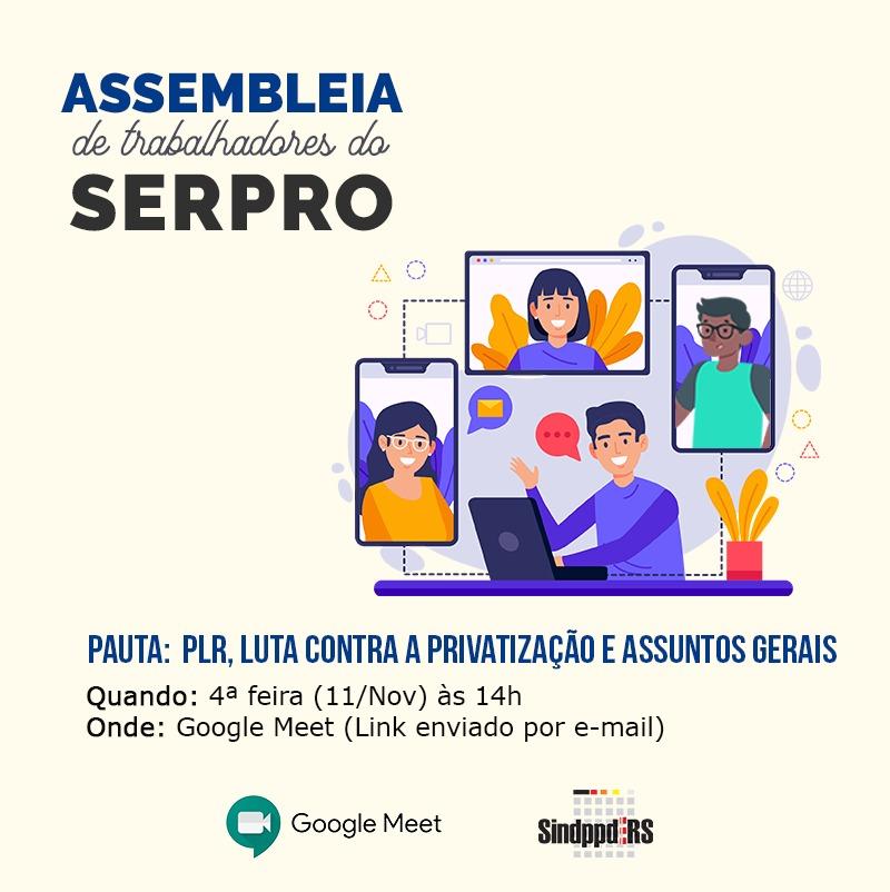 201111CARD_assembleia serpro_PLR_privatizacao